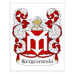 Krzyczewski Coat of Arms Small Poster