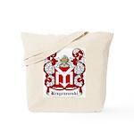 Krzyczewski Coat of Arms Tote Bag
