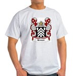 Kruzer Coat of Arms Ash Grey T-Shirt