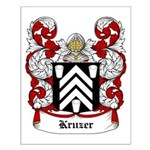 Kruzer Coat of Arms Small Poster