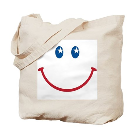 Smiley Face USA: Tote Bag