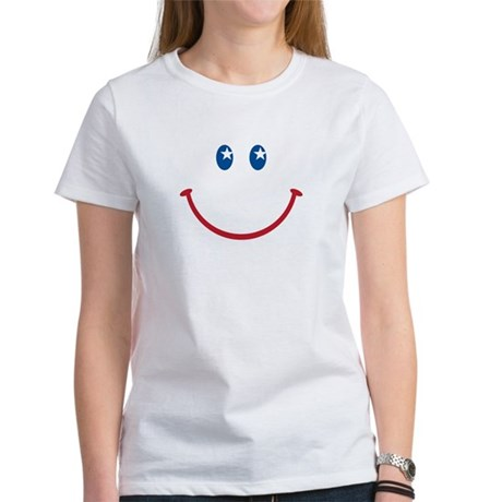 Smiley Face USA: Women's T-Shirt