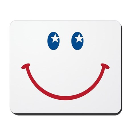 Smiley Face USA: Mousepad
