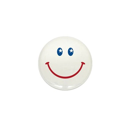 Smiley Face USA: Mini Button