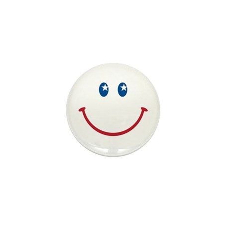 Smiley Face USA: Mini Button (100 pack)