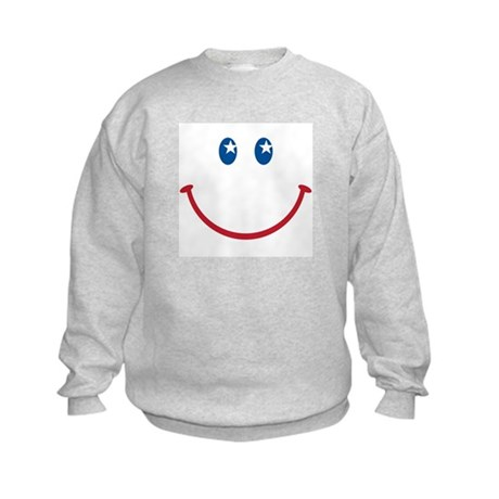 Smiley Face USA: Kids Sweatshirt
