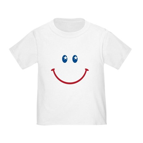 Smiley Face USA: Toddler T-Shirt