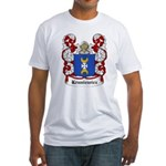 Kruniewicz Coat of Arms Fitted T-Shirt