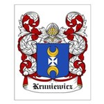 Kruniewicz Coat of Arms Small Poster