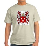 Kosy Coat of Arms Ash Grey T-Shirt