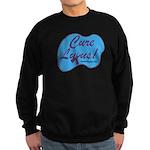 cure_lupusnew.png Sweatshirt (dark)
