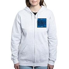 Personalized BBQ Zip Hoody