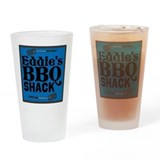 Personalized BBQ Drinking Glass