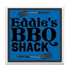 Personalized BBQ Tile Coaster