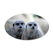Meerkats 2 Wall Decal