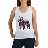 Frenchie Power Women's Tank Top