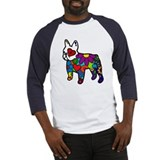 Frenchie Power Baseball Jersey