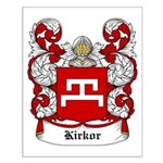 Kirkor Coat of Arms Small Poster
