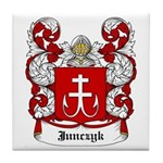 Junczyk Coat of Arms Tile Coaster