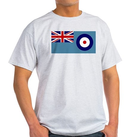 UK's RAF Flag Shoppe Ash Grey T-Shirt