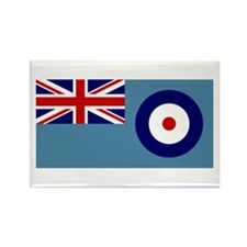 UK's RAF Flag Shoppe Rectangle Magnet (10 pack)