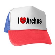 I Love Arches Trucker Hat
