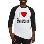 I Love Shenandoah Baseball Jersey