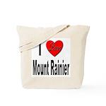 I Love Mount Rainier Tote Bag