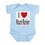 I Love Mount Rainier Infant Creeper
