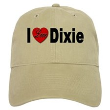 I Love Dixie Baseball Cap