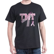 TMT initials, Pink Ribbon, T-Shirt