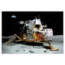 Moon landing, 21 July 1969