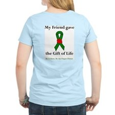 Friend Donor Women's Pink T-Shirt