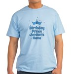 1st Birthday Prince Jordons Nana Light T-Shirt