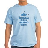 1st Birthday Prince Jordons Nana T-Shirt