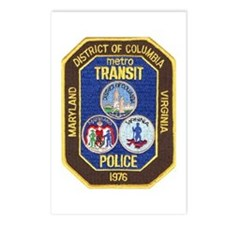 Metro Transit Police Postcards (Package of 8)
