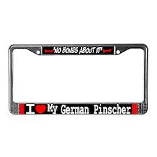 NB_German Pinscher License Plate Frame