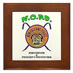 N.O.P.D. Evac Framed Tile
