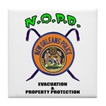 N.O.P.D. Evac Tile Coaster