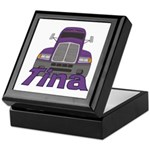 Trucker Tina Keepsake Box