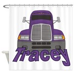 Trucker Tracey Shower Curtain