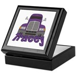 Trucker Tracey Keepsake Box