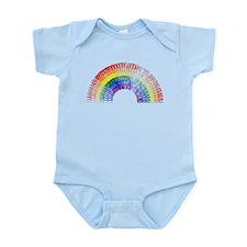 Scribbly Rainbow Infant Bodysuit