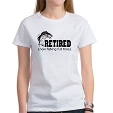 Retired Fishing Shirt Tee