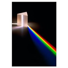Light through prism