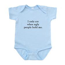 Ugly People Infant Bodysuit