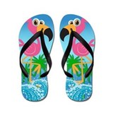 Flamingo Flip Flops