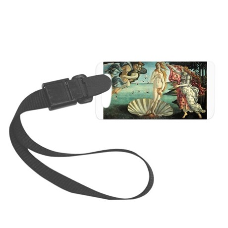 The Birth of Venus by Botticelli Small Luggage Tag