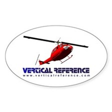 VR 205 Oval Decal