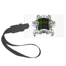 Gordon Tartan Shield Luggage Tag